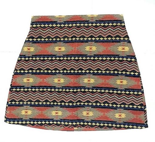 falda estampado etnico