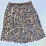 minifalda print animal