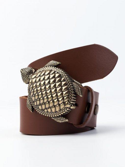 cinturon hebilla tortuga