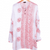 kurta algodón estampado indio