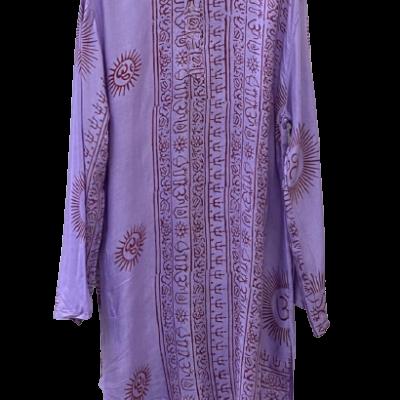 camisola estampado indio