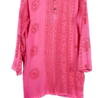 túnica estampado indio