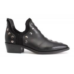 punky boot negro